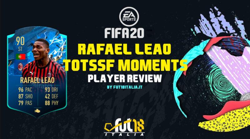 FIFA 20: Rafael Leao TOTSSF Moments player review