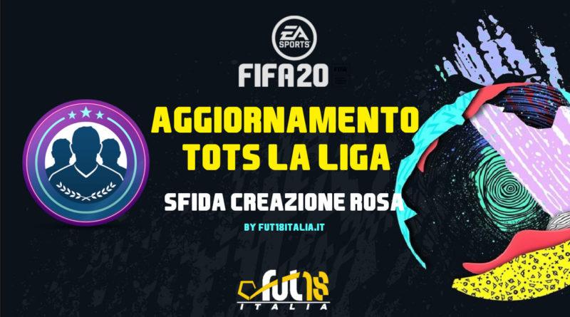 FIFA 20: SBC TOTS La Liga Santander garantito