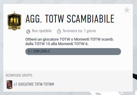 FIFA 20: Aggiornamento TOTW scambiabile garantito TOTSSF