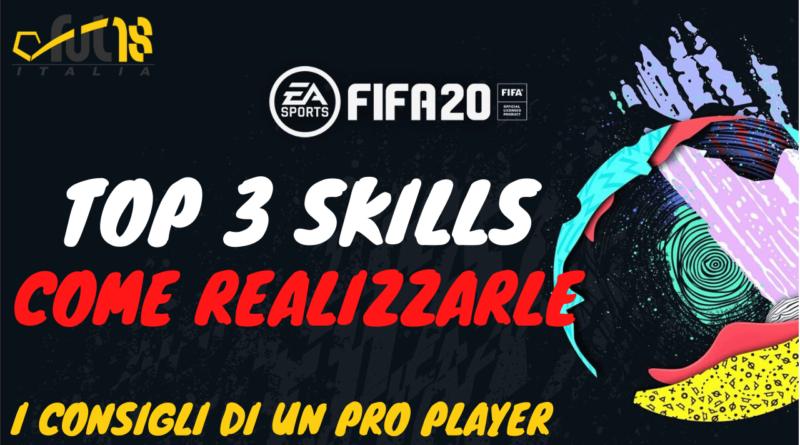 FIFA FUT 20: come realizzare le 3 migliori skills più efficaci
