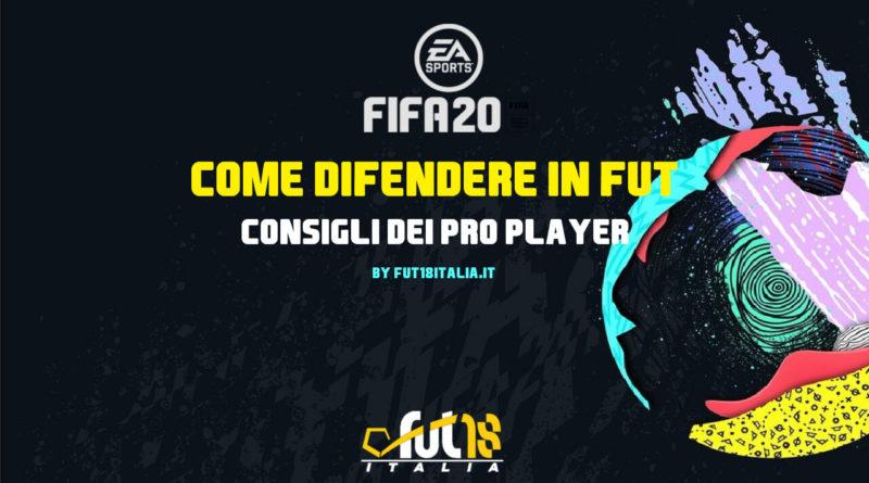 Come difendere in FIFA 20 Ultimate Team: consigli dei PRO Player