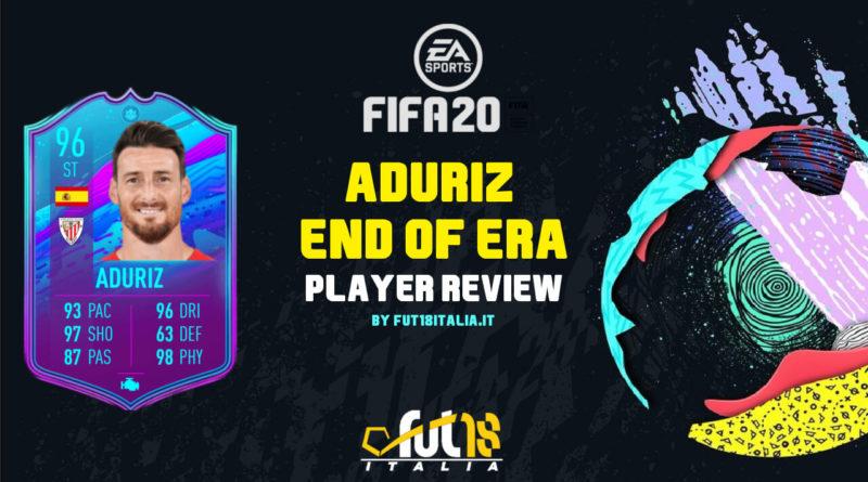 FIFA 20: Aduriz Fine di un'Era player review