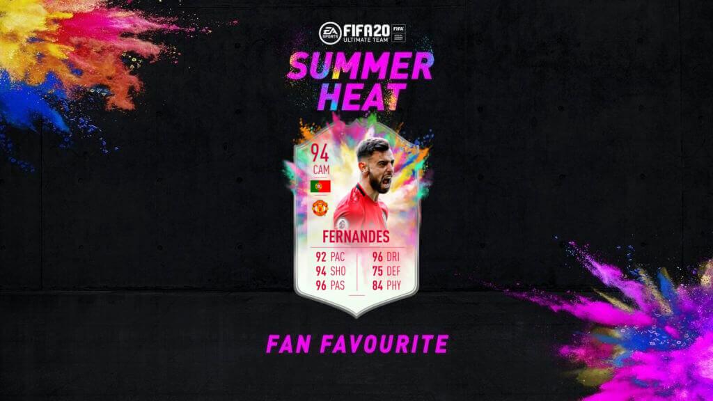 FIFA 20: Bruno Fernandes Summer Heat obiettivo