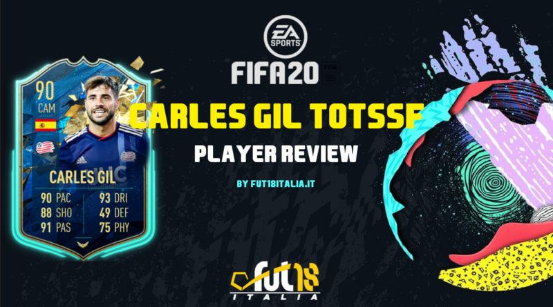 FIFA 20: Carles Gil TOTSSF player review