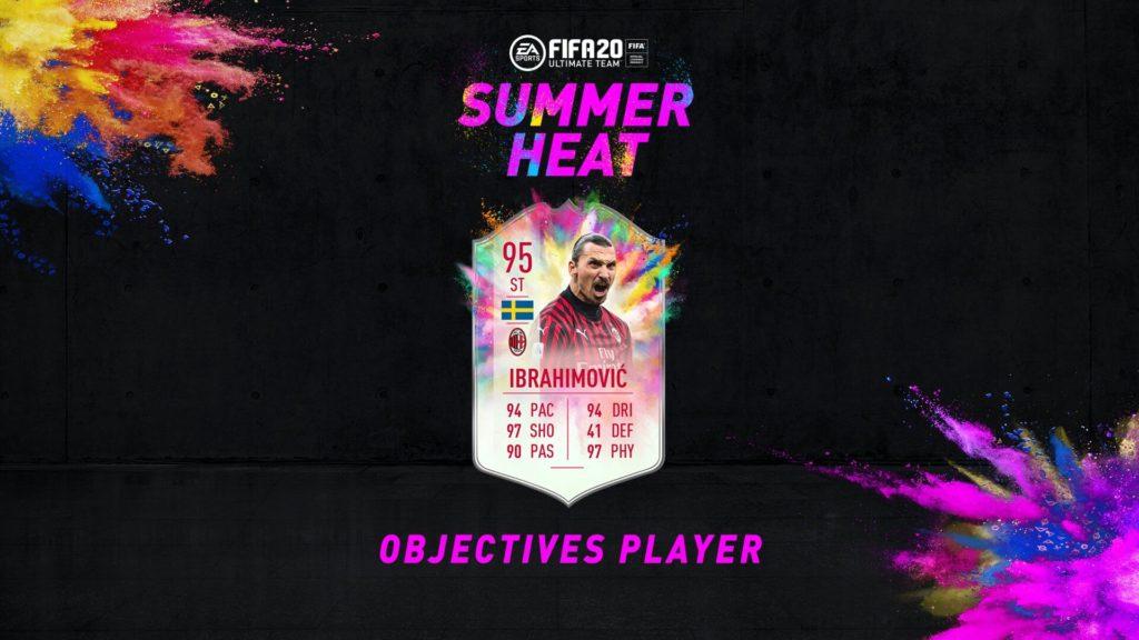 FIFA 20: Ibrahimovic Summer Heat obiettivo