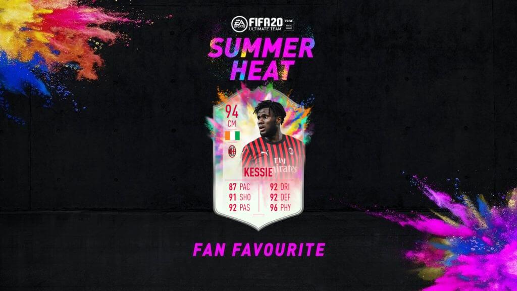 FIFA 20: Kessie Summer Heat obiettivo settimanale