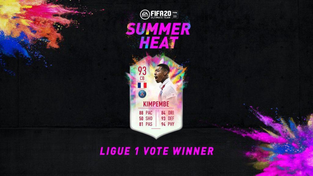 FIFA 20: Kimpembe Summer Heat SBC