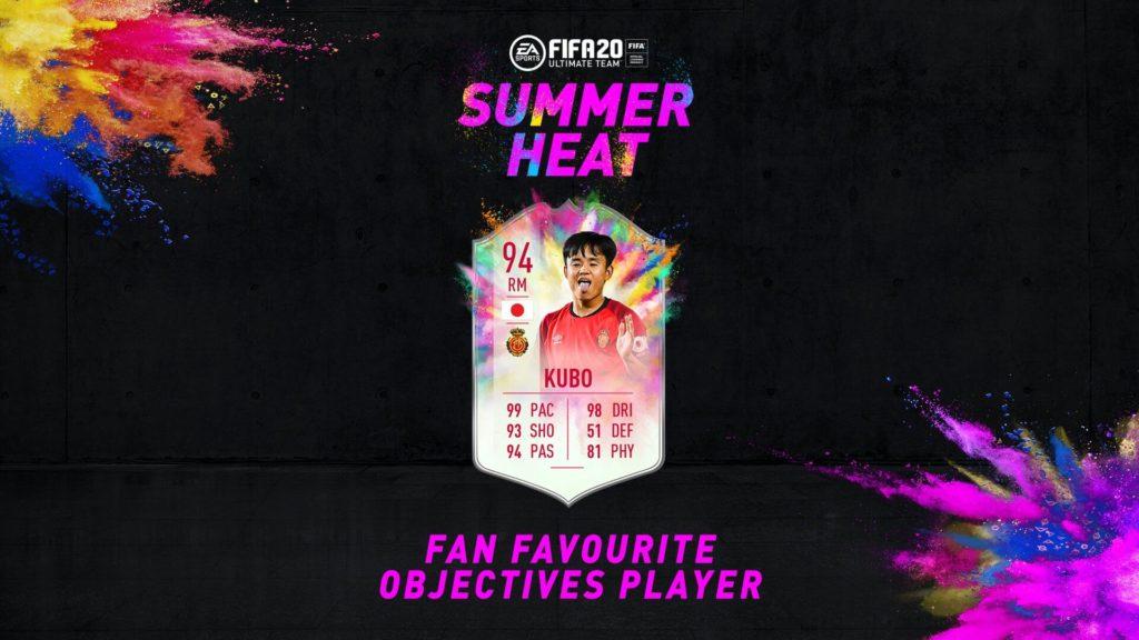 FIFA 20: Kubo Summer Heat obiettivo