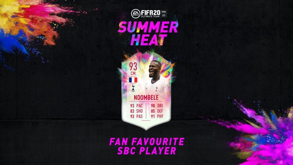 FIFA 20: Ndombele Summer Heat SBC