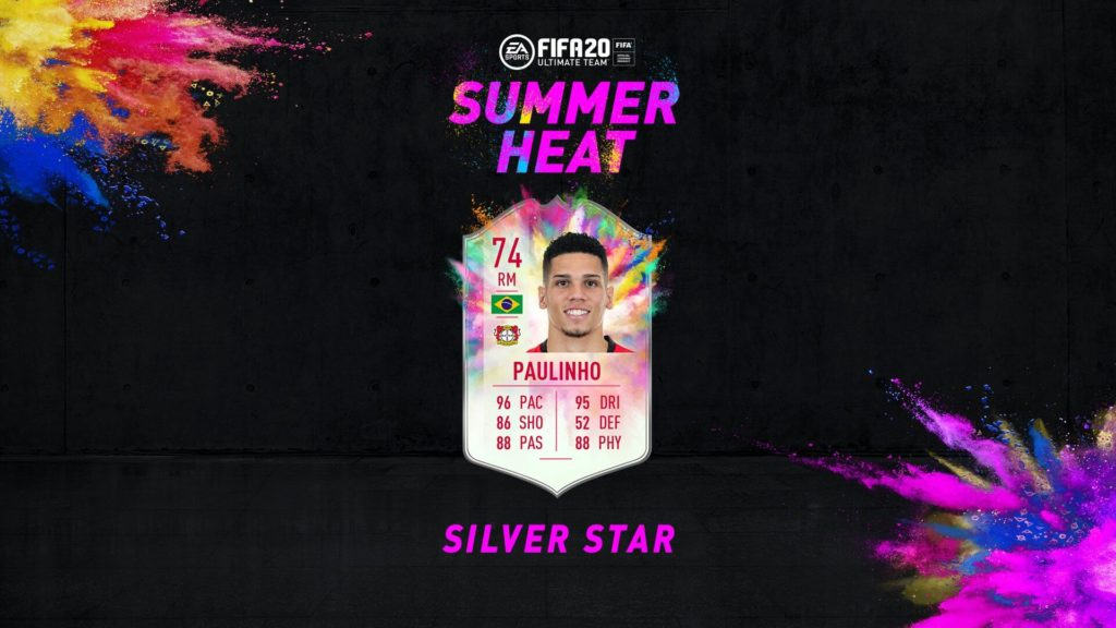 FIFA 20: Paulinho Silver Star Summer Heat