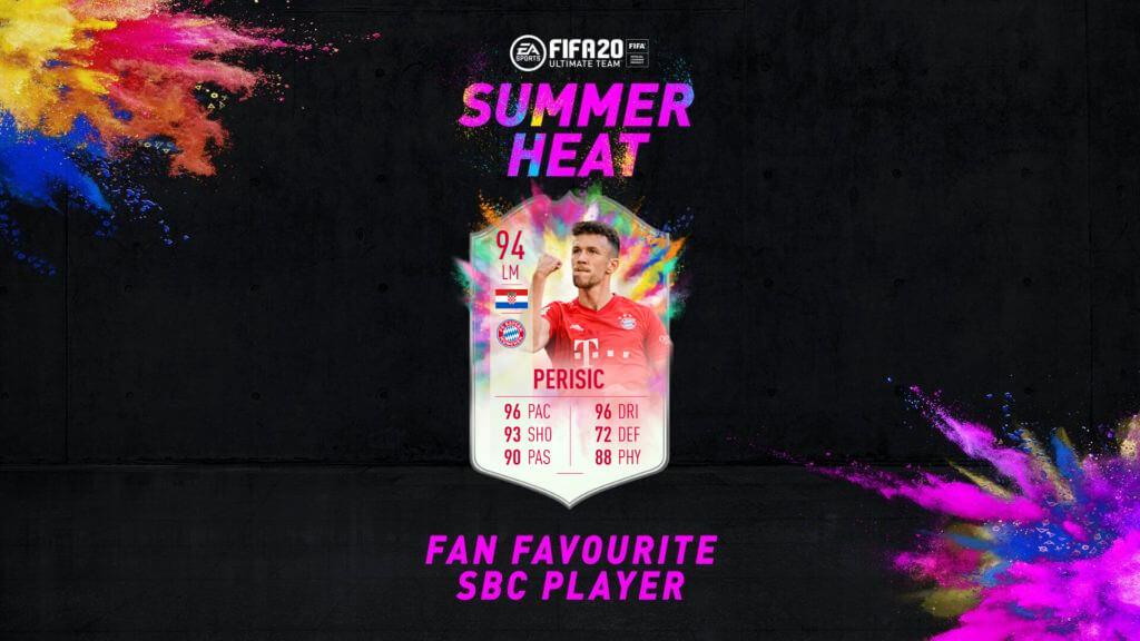 FIFA 20: Perisic Summer Heat SBC