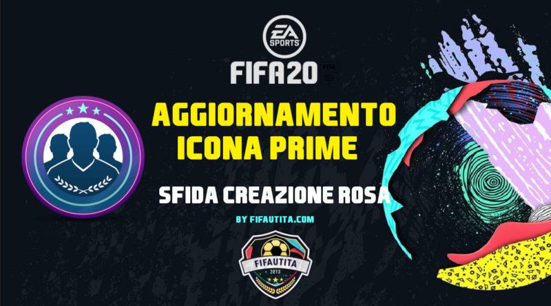 FIFA 20: SBC Icona Prime garantita