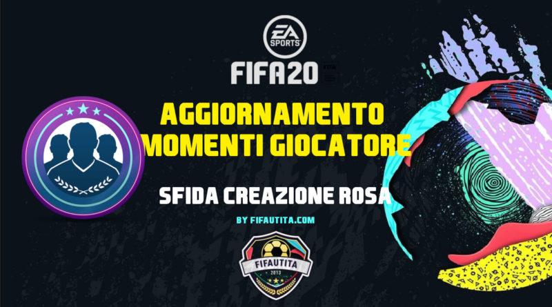 FIFA 20: SBC player moments garantito