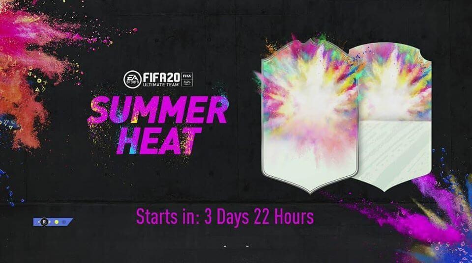 FIFA 20: design ufficiale delle card Summer Heat
