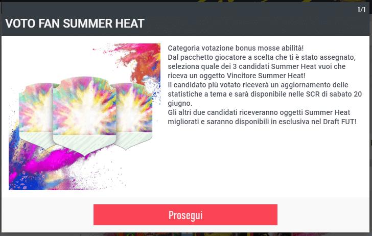 FIFA 20: Votazione Summer Heat stelle skills
