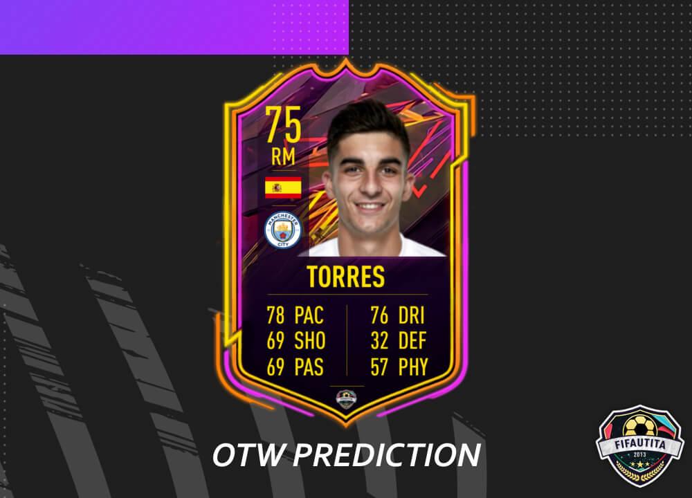 FIFA 21: Ferran Torres Ones to Watch prediction