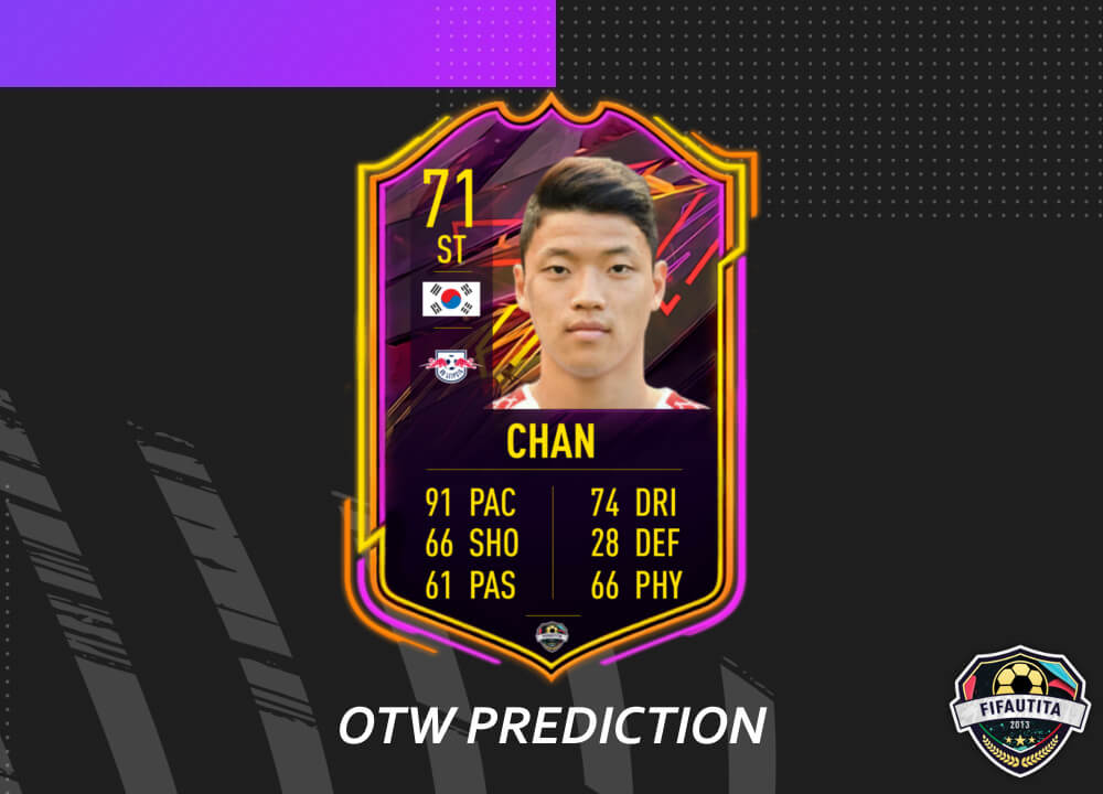 FIFA 21: Hee-Chan Hwang Ones to Watch prediction