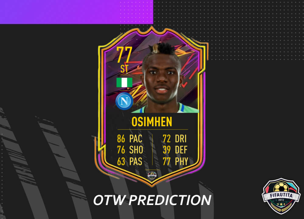 FIFA 21: Osimhen Ones to Watch prediction