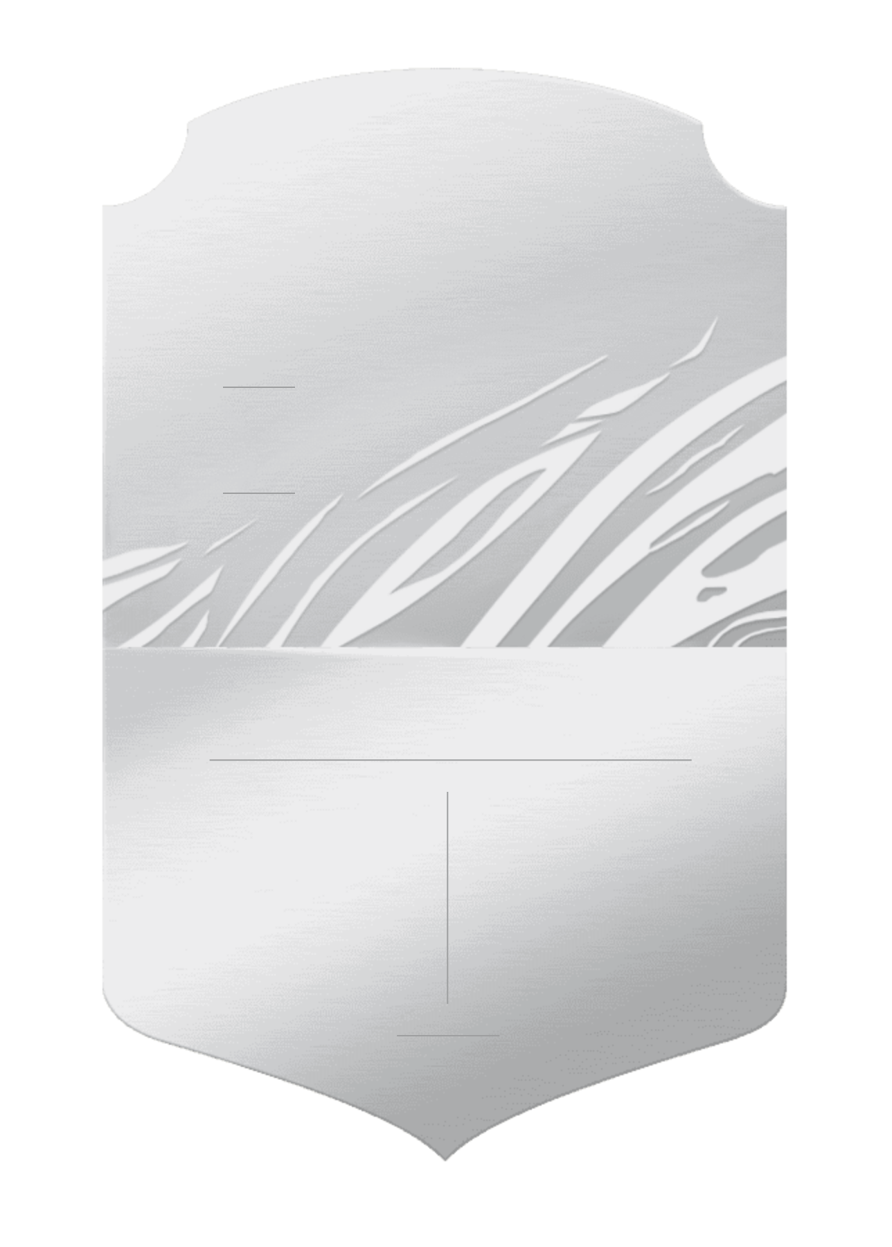 FIFA 21: official Silver card design