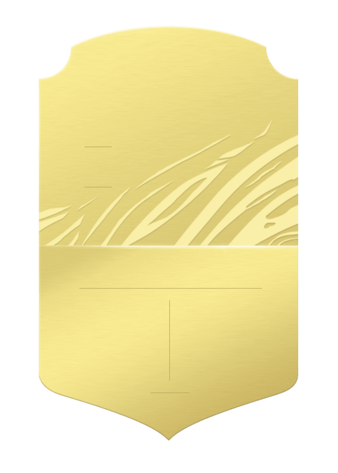 FIFA 21: official Gold card design