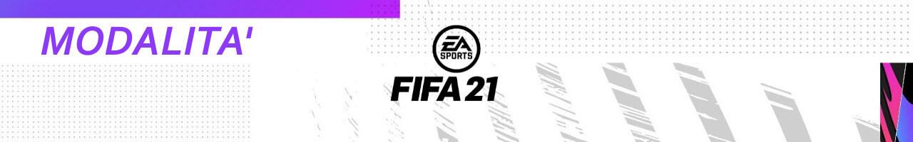FIFA 21: modalità di gioco