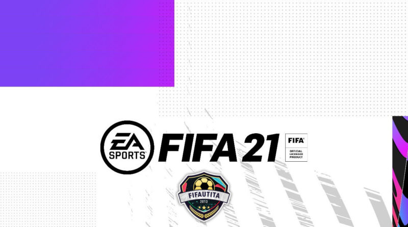 FIFA 21 official design logo