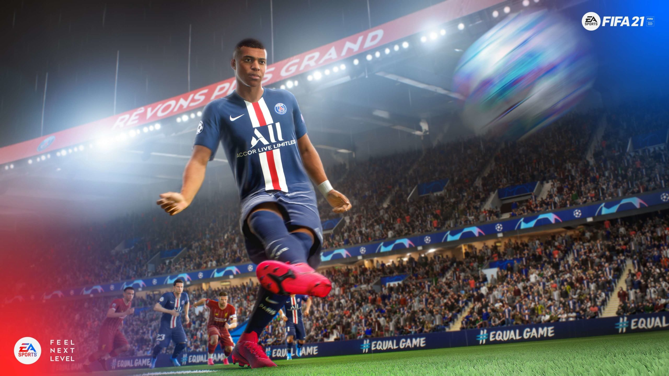 FIFA 21 screen Mbappé