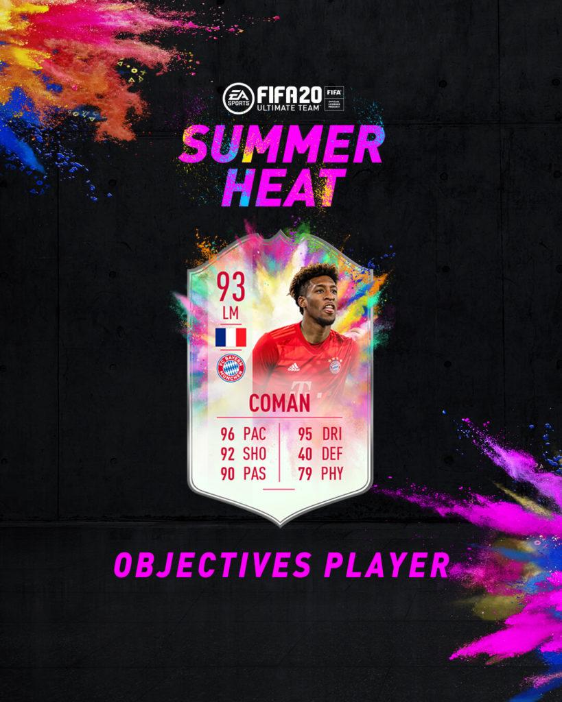 FIFA 20: Coman Summer Heat obiettivo