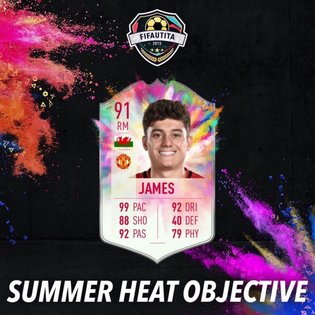 FIFA 20: Daniel James Summer Heat obiettivo