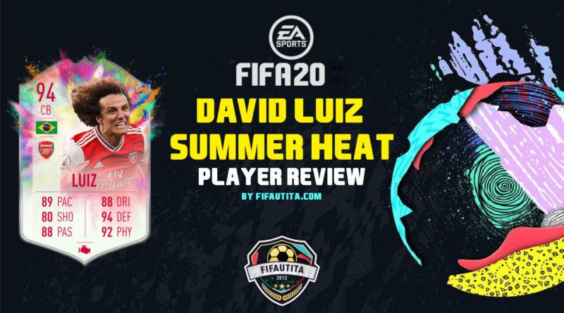 FIFA 20: David Luiz Summer Heat SBC player review
