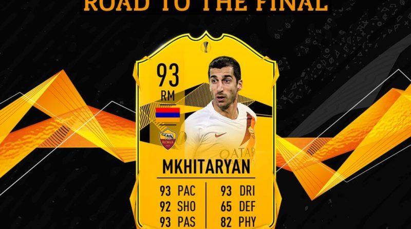 FIFA 20: Mkhitaryan Europa League Live SBC