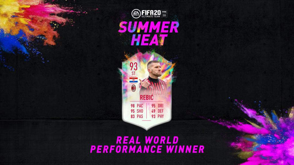 FIFA 20: Rebic Summer Heat SBC