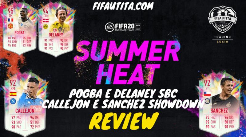 FIFA 20 Summer Heat: Pogba, Delaney, Callejon, Sanchez SBC player review