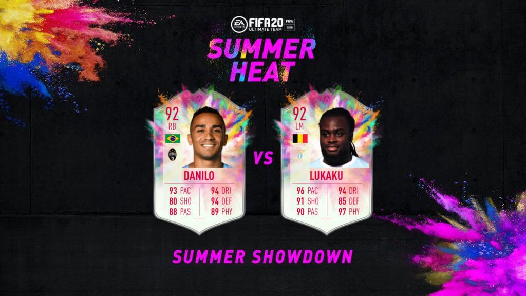 FIFA 20: Summer Showdown Danli e Lukaku Summer Heat