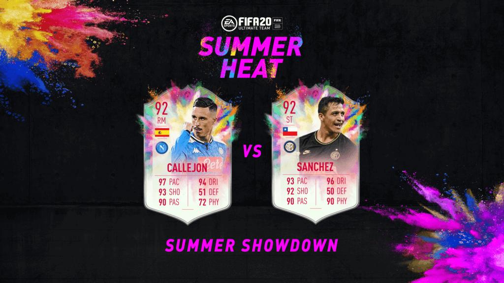 FIFA 20: Summer Showdown Alexis Sanchez Vs Callejon