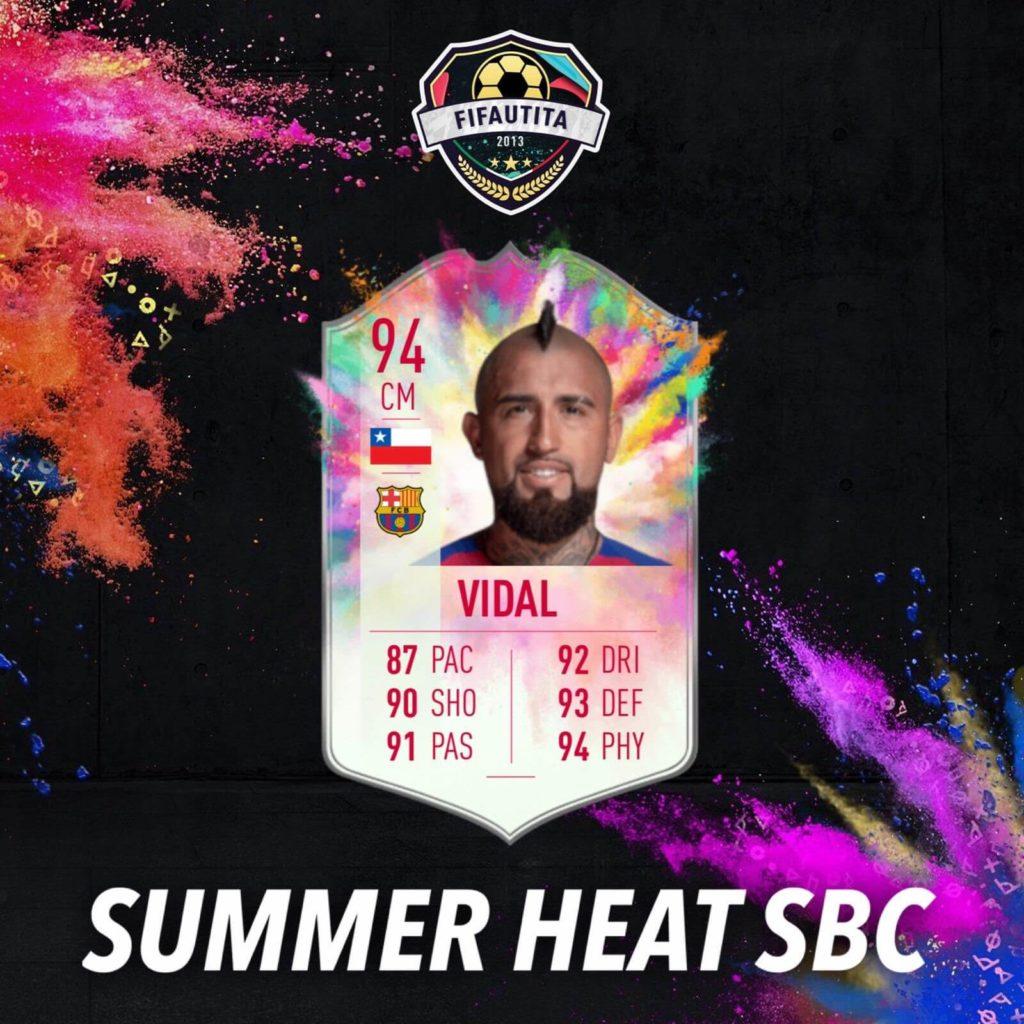 FIFA 20: Vidal Summer Heat SBC
