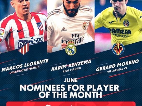 FIFA 20: candidati al premio di POTM della Liga Santander di giugno