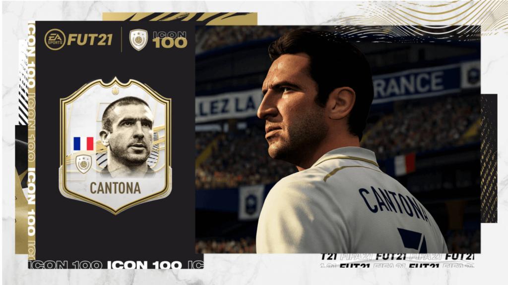 FIFA 21: Eric Cantona icon
