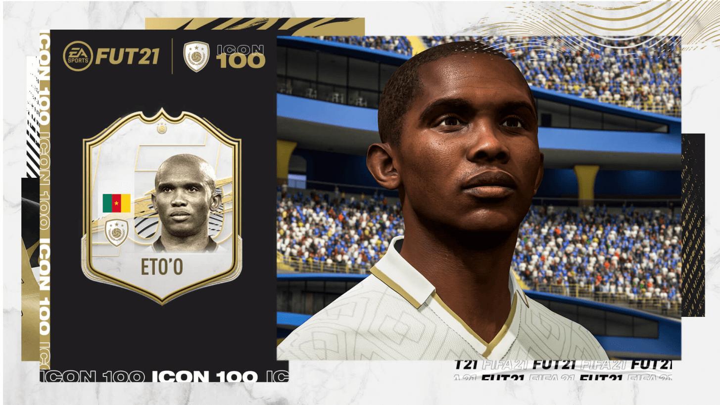FIFA 21: Samuel Eto'o icon