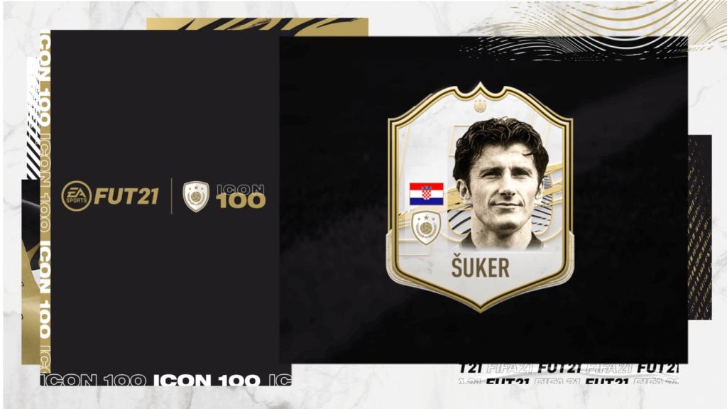 FIFA 21: Davor Suker icon