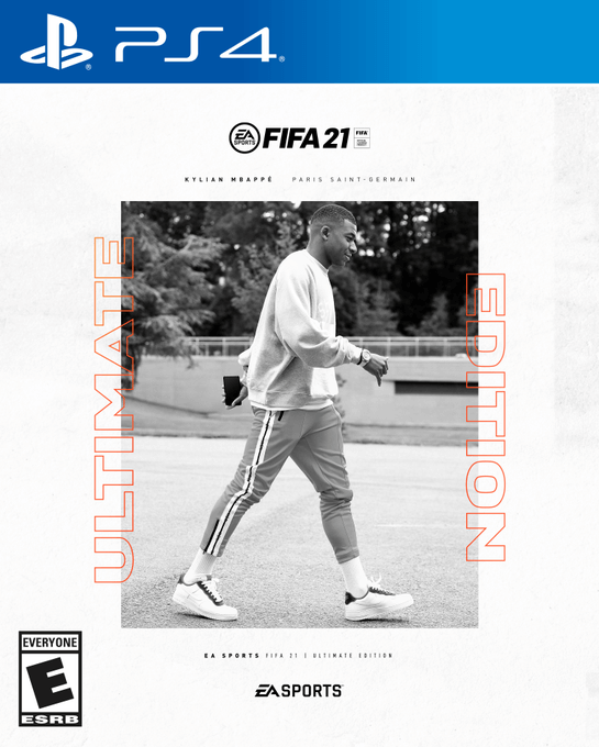 FIFA 21 Ultimate Edition cover ufficiale