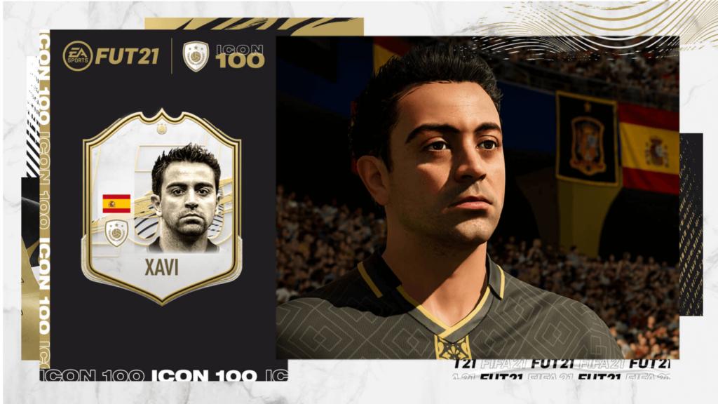 FIFA 21: Xavi Hernandez icon