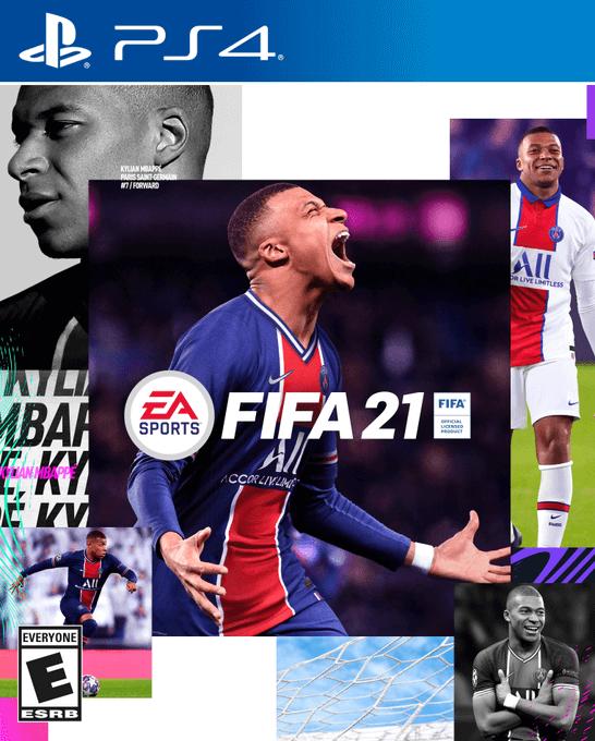 FIFA 21 Standard Edition cover ufficiale