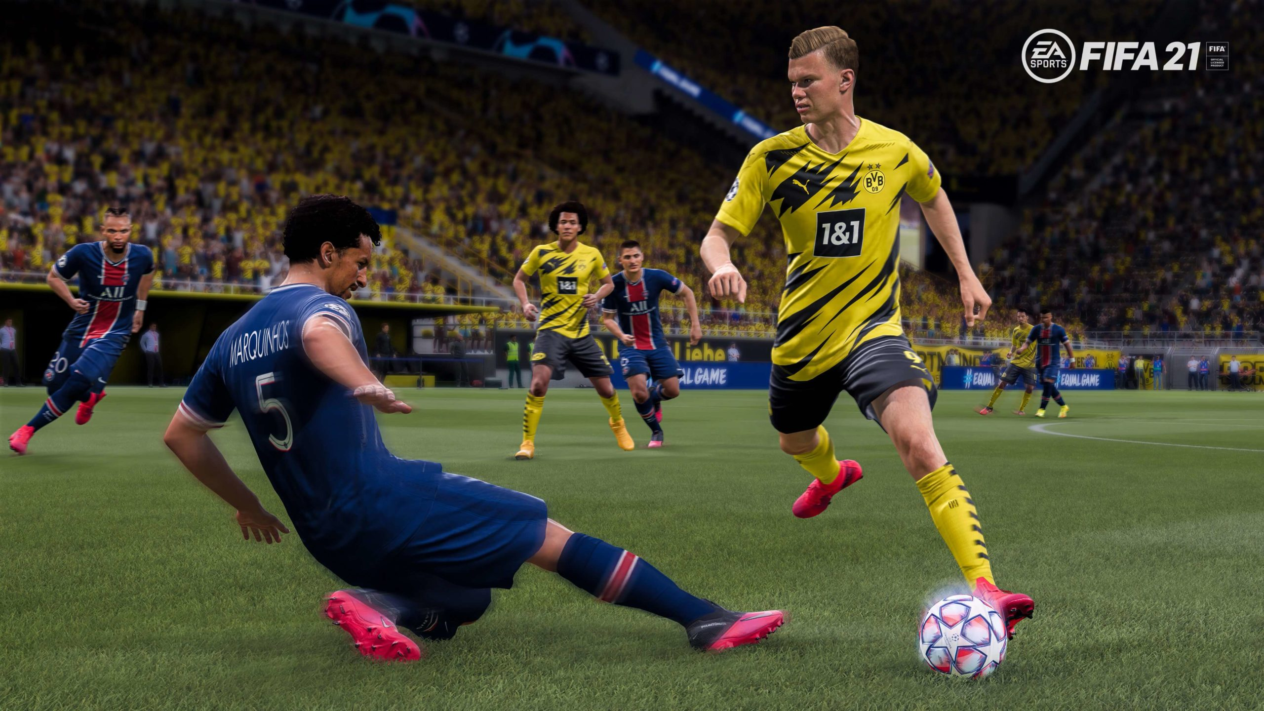 FIFA 21: Haland gameplay screenshot