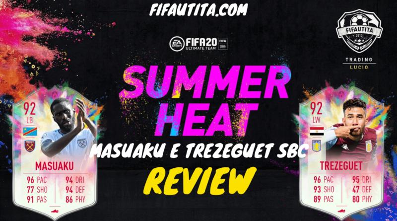 FIFA 20 Summer Heat: Masuaku e Trezeguet showdown SBC player review