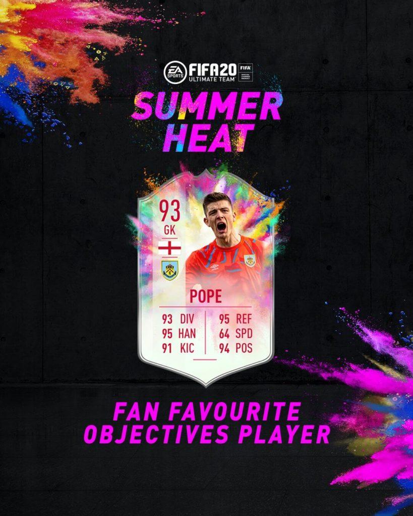 FIFA 20: Pope Summer Heat obiettivo