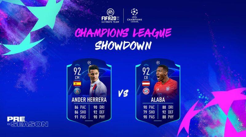 FIFA 20: Herrera e Alaba UCL Showdown SBC