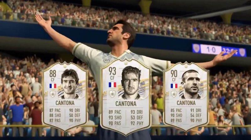 FIFA 21: Cantona Icon stats