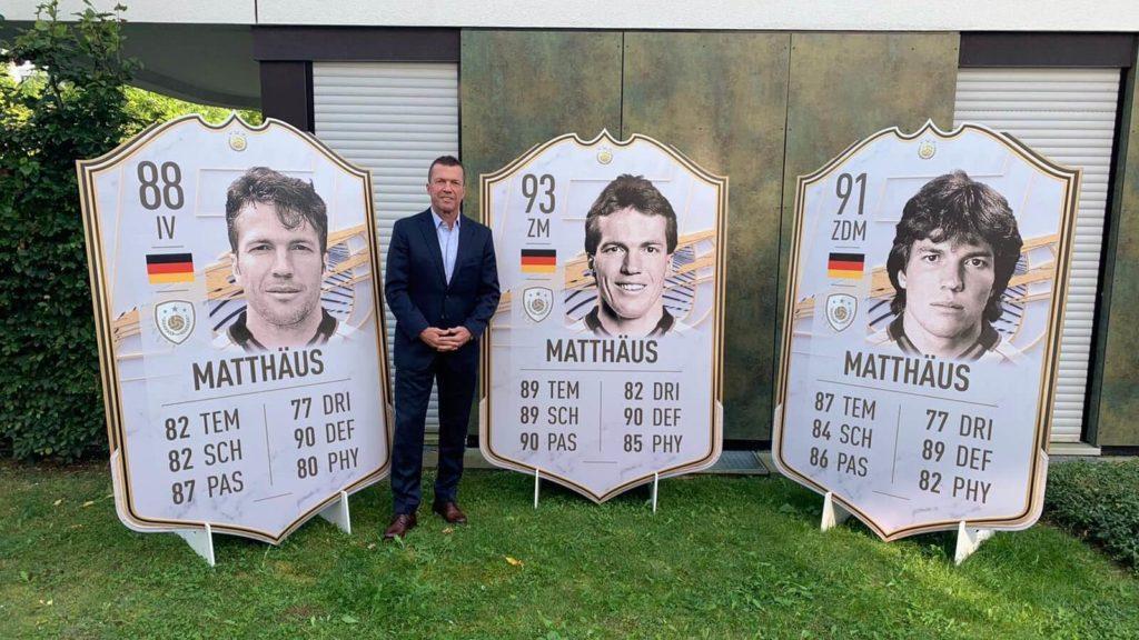 FIFA 21: Matthaus Icon stats