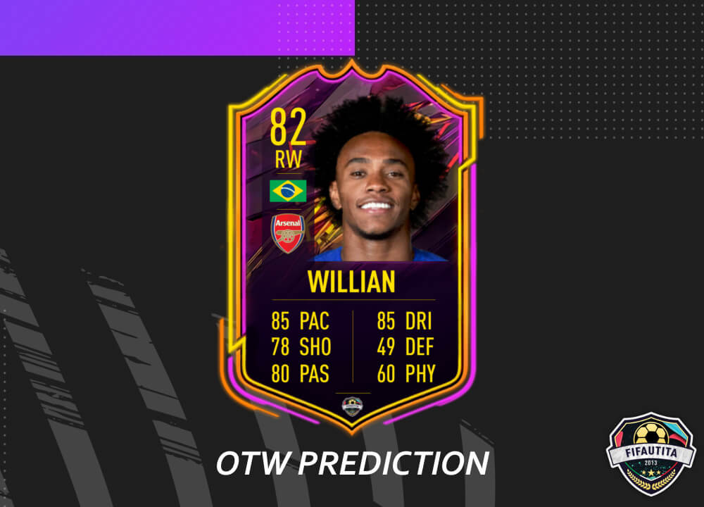 FIFA 21: Willian Ones to Watch prediction